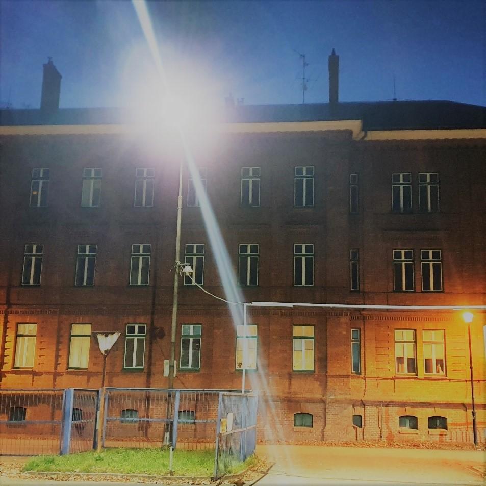 Rekonstrukce osvětlovací soustavy parkoviště Mostárna Industrial Park a.s.