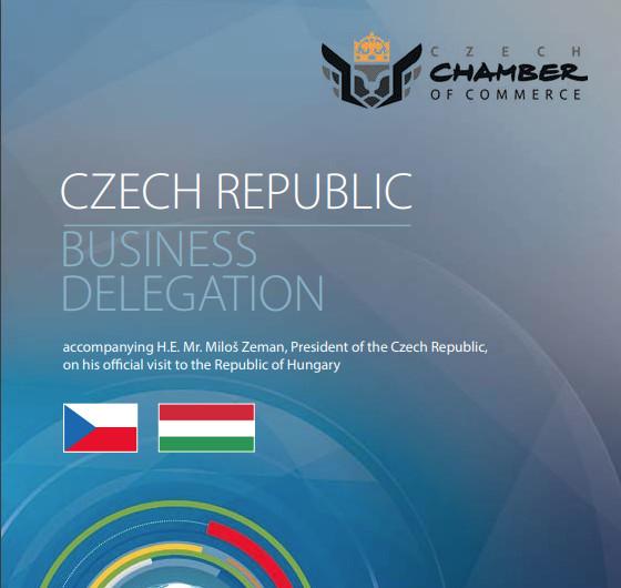 Hospodářská komora nás pozvala jako doprovod delegace prezidenta Miloše Zemana na jeho pracovní cestě do Maďarska.