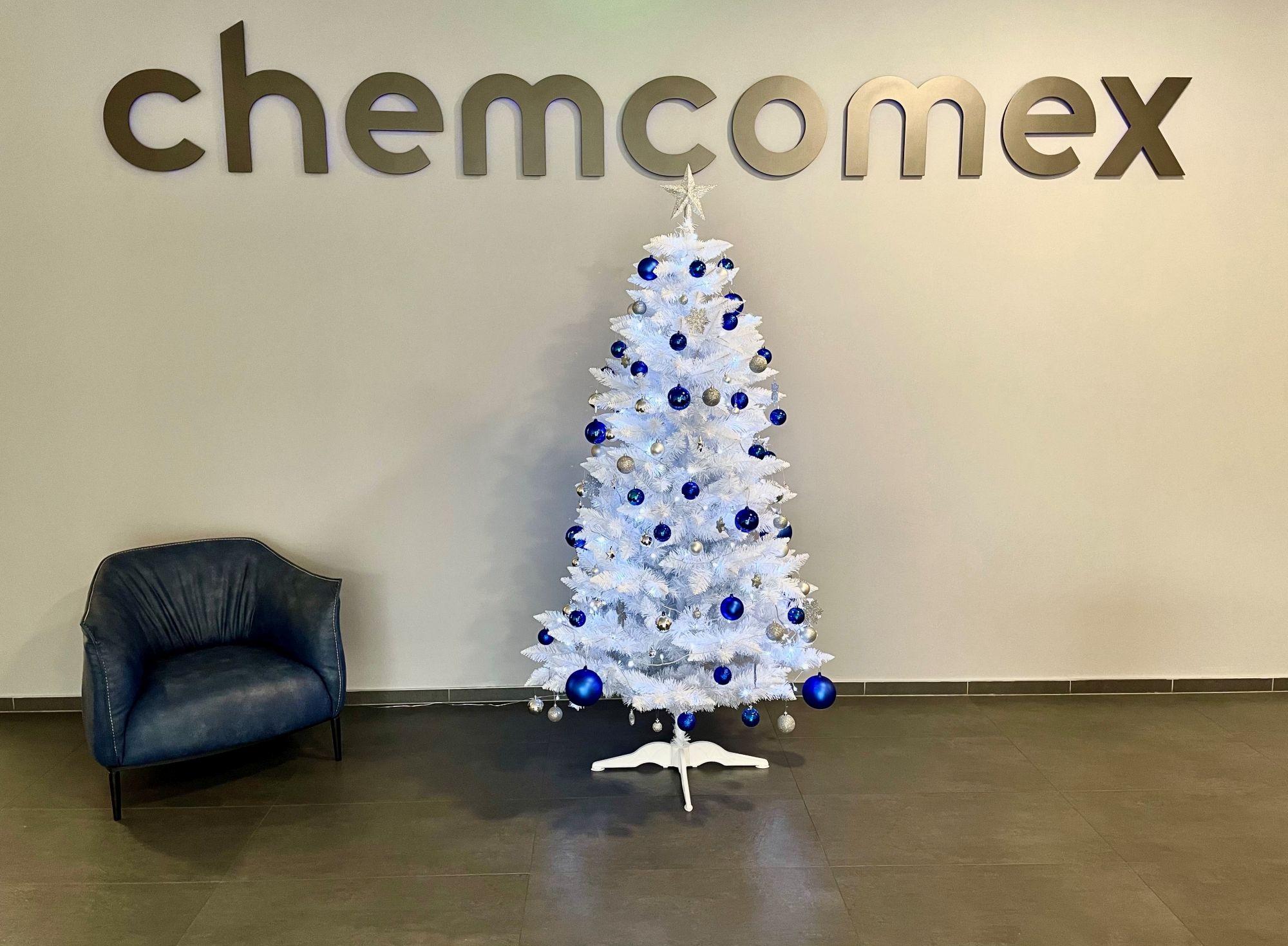 Krásné svátky ve zdraví Vám přeje CHEMCOMEX!